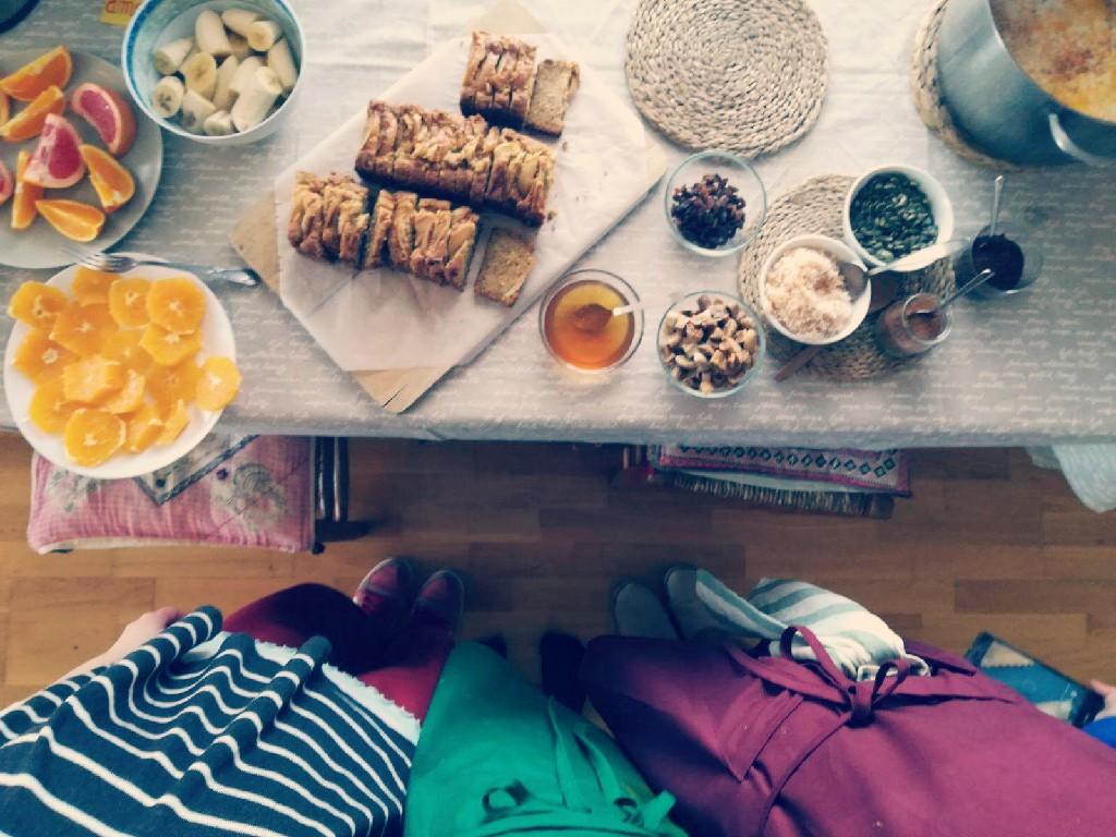 La Creatividad En La Cocina + Receta: Crema De Avena Con Manzana Rallada Y Especias