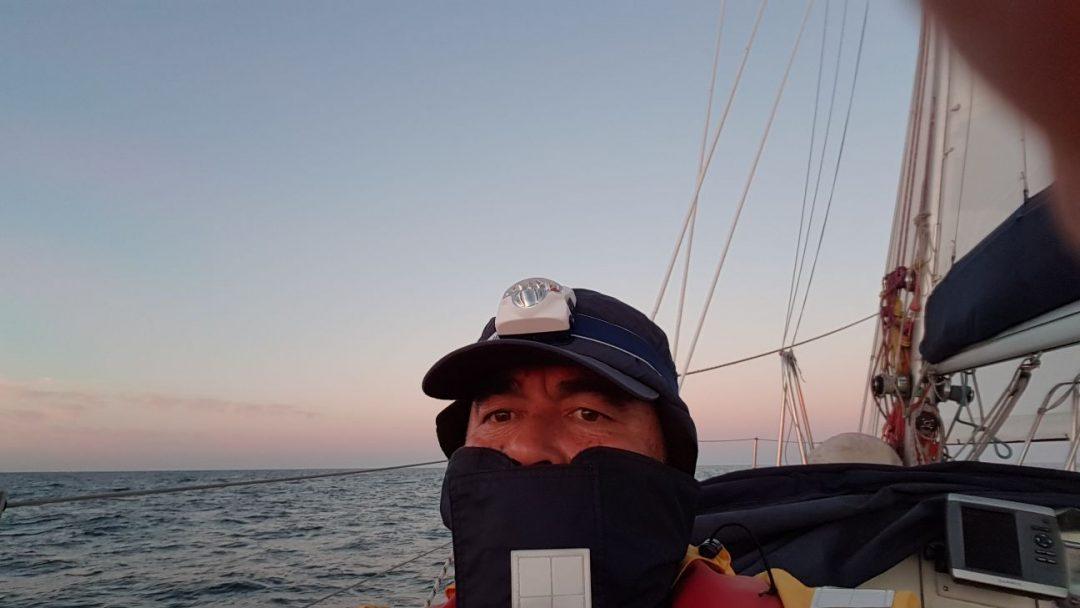 Totalmente En El Presente Cruzando El Mar Norte A Vela