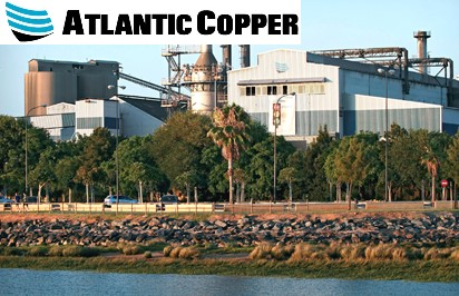Atlantic Copper Planta Huelva