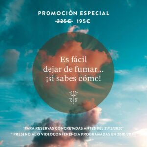 PROMOCIÓN ESPECIAL PROGRAMA DEJAR DE FUMAR